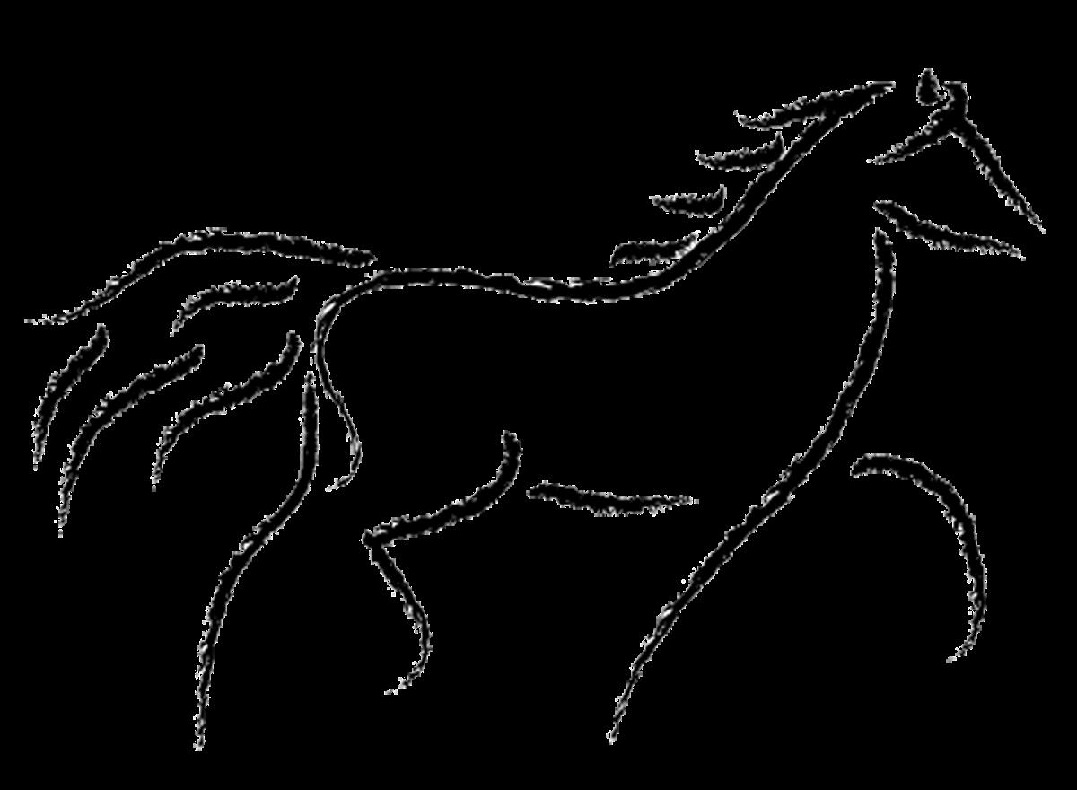 Musings at minkiewicz studios. Horses clipart ear