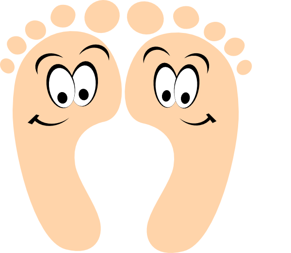Clip art at clker. Feet clipart happy foot