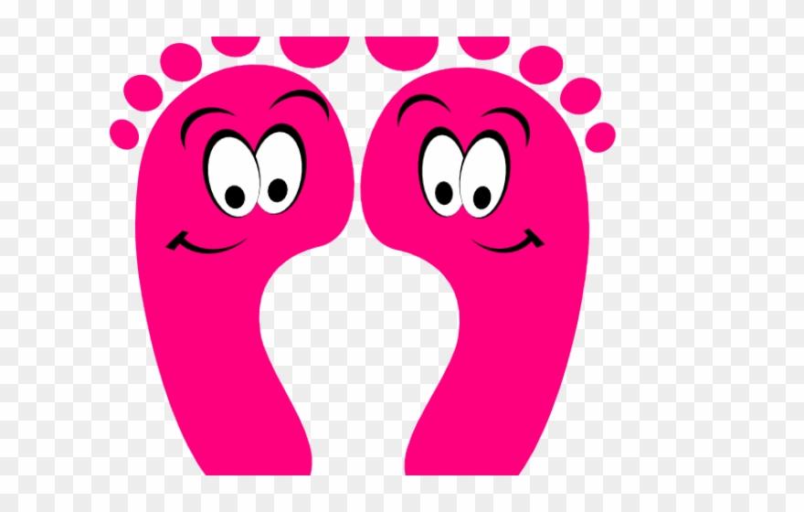 Cute cartoon clip art. Feet clipart happy foot