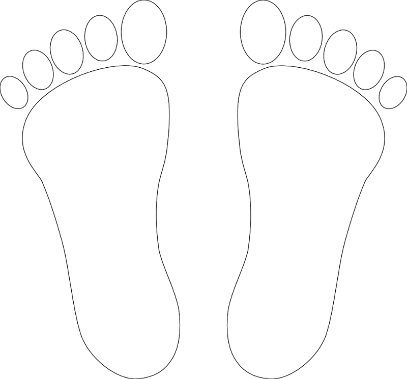 Footprint clipart icon. Foot print images cliparts