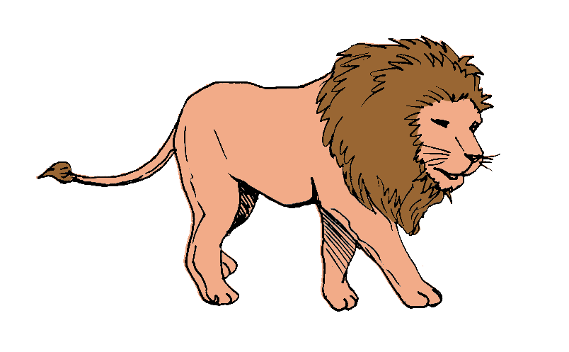 Feet clipart lion. Walking on the prowl