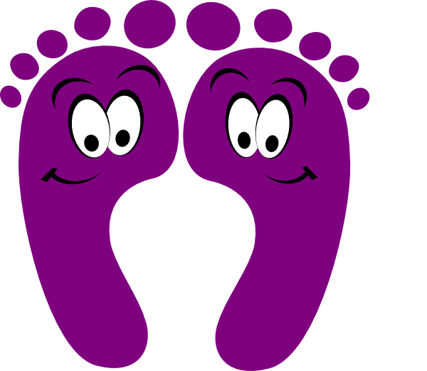 feet clipart little foot