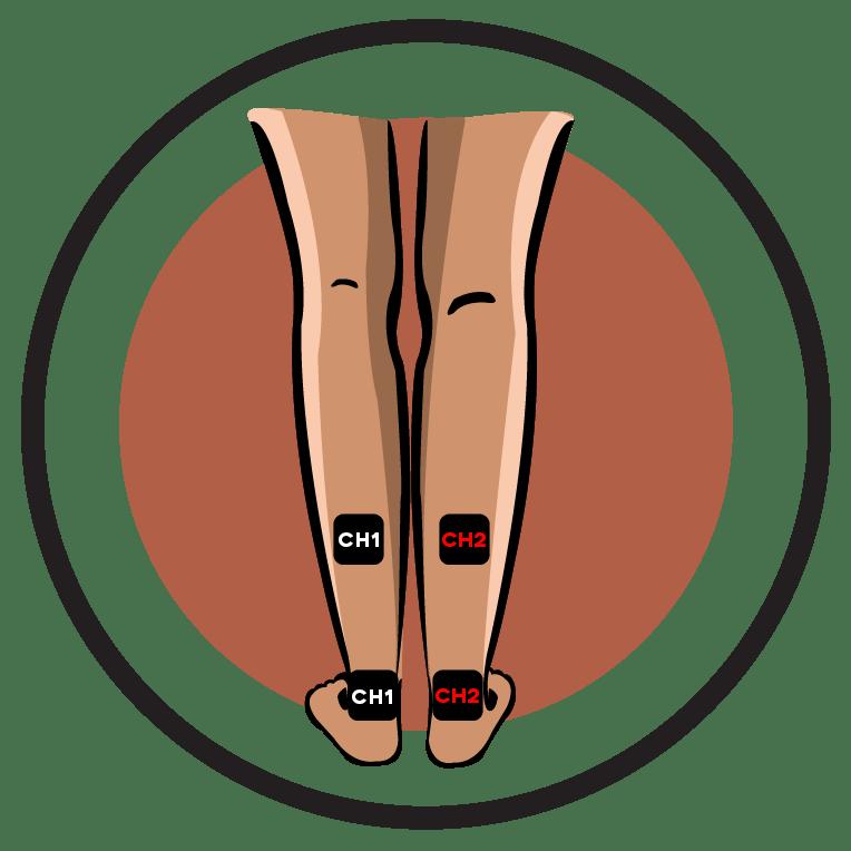 Diabetic neuropathy leg pain. Foot clipart lower limb