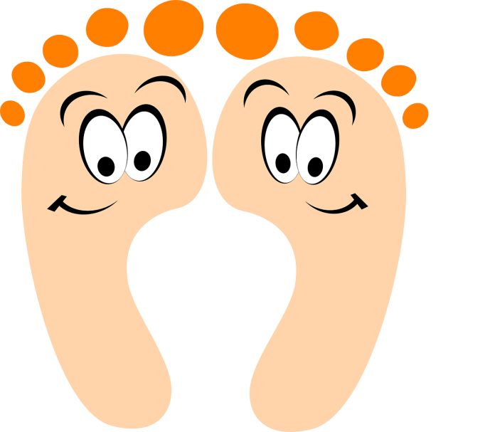 Feet clipart one foot. We care clinic for