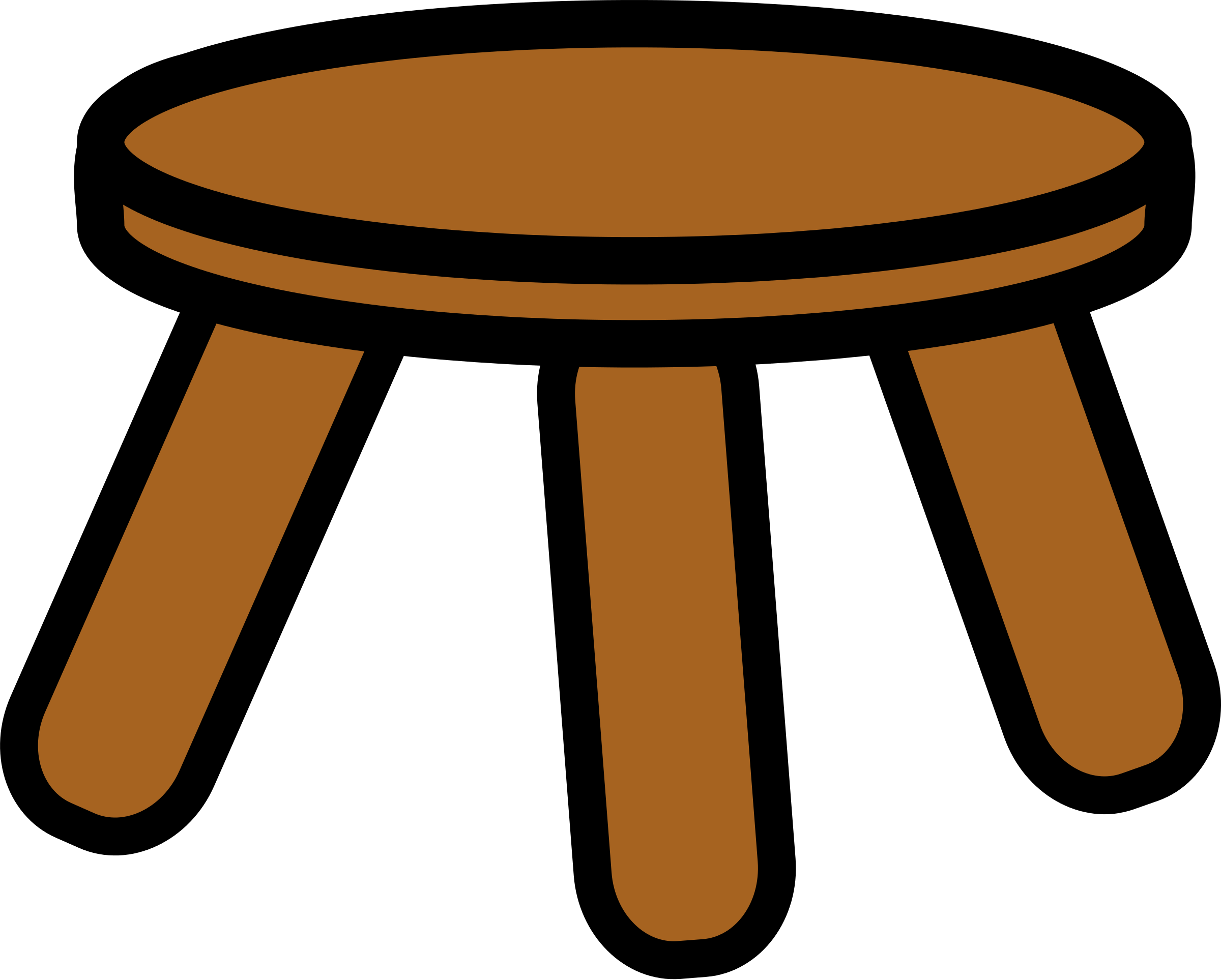 Feet clipart orange. Wooden foot stool panda