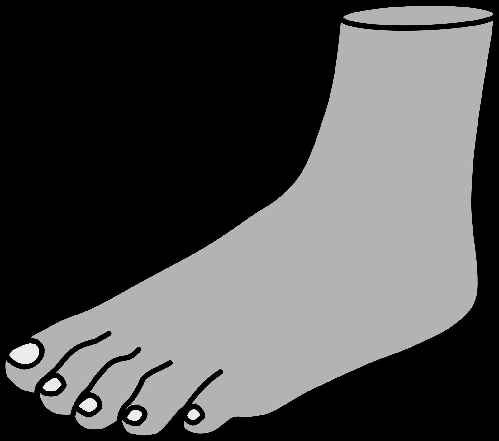 Foot clipart one foot. Clipartix