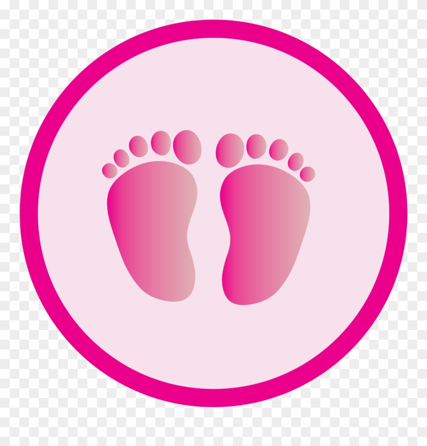 Clip art free download. Feet clipart pink baby