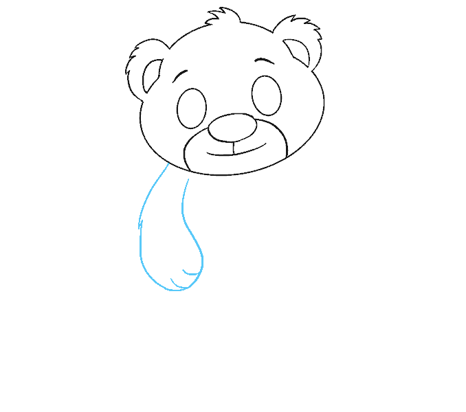 How to Draw a Polar Bear Cub in a Few Easy Steps | EasyDrawingGuides