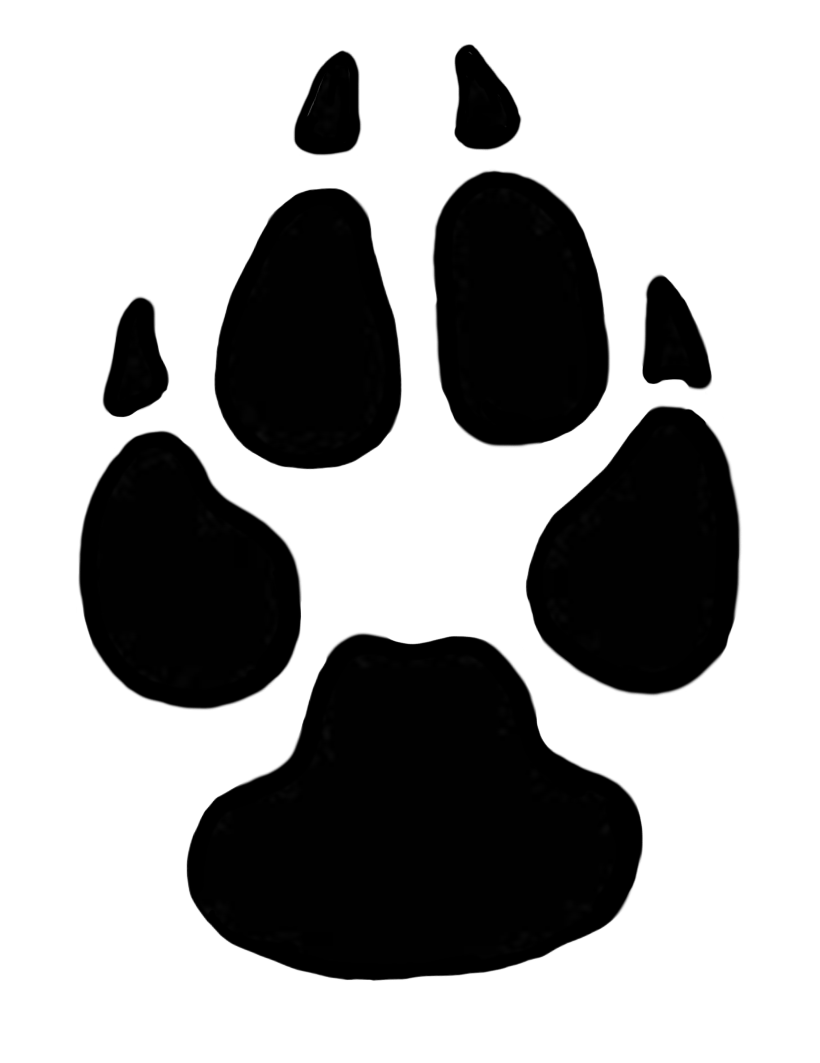 Paws clipart lion's paw. Dog print tats pinterest