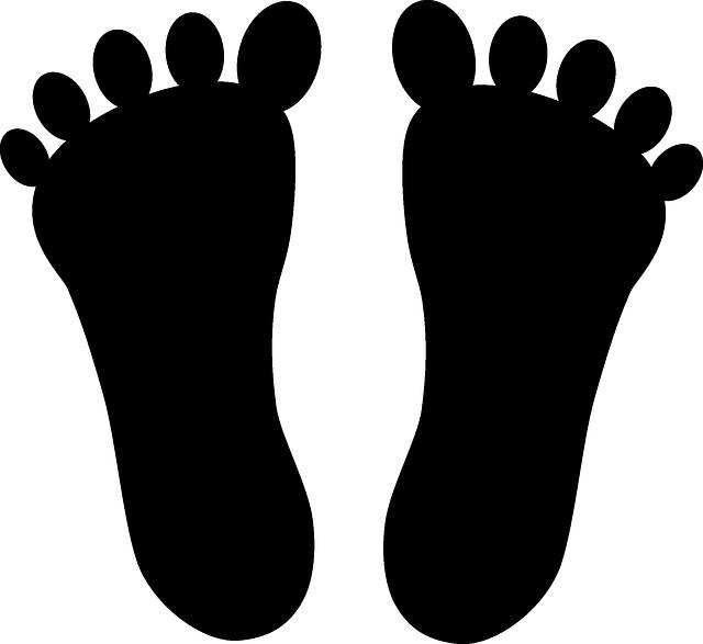 Pretty design ideas feet. Footsteps clipart transparent background