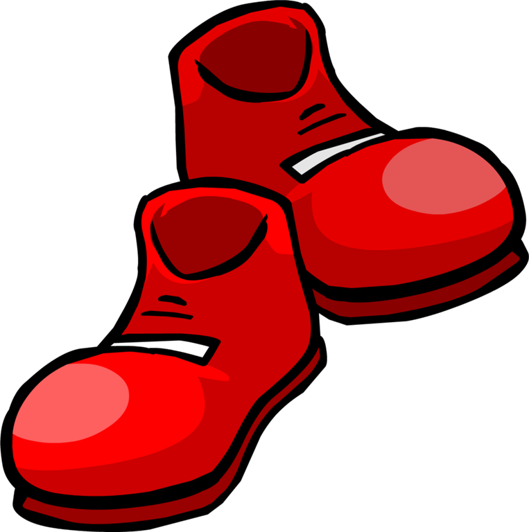 Feet clipart red. Students buy teacher some