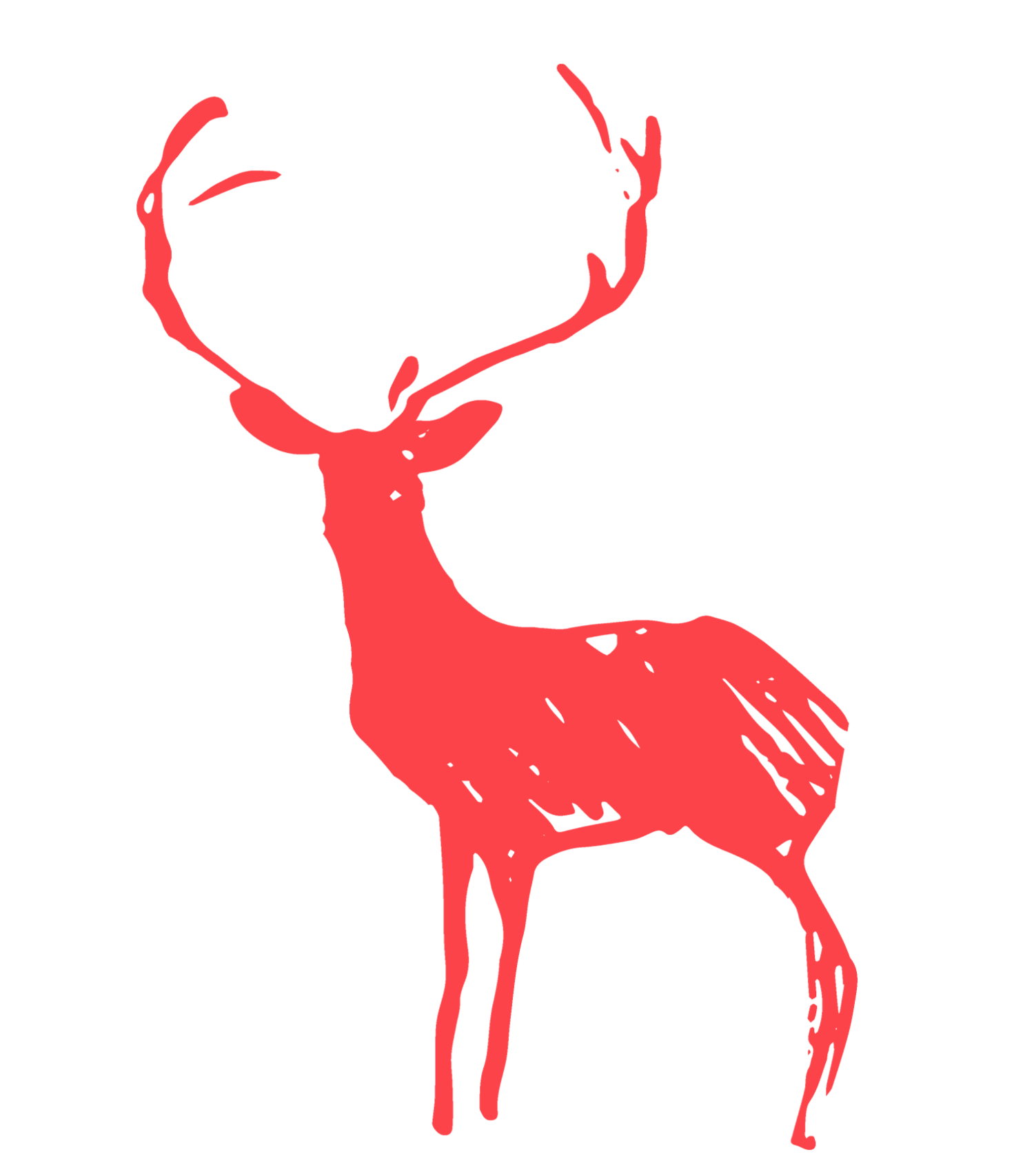 Feet clipart reindeer. Cadru