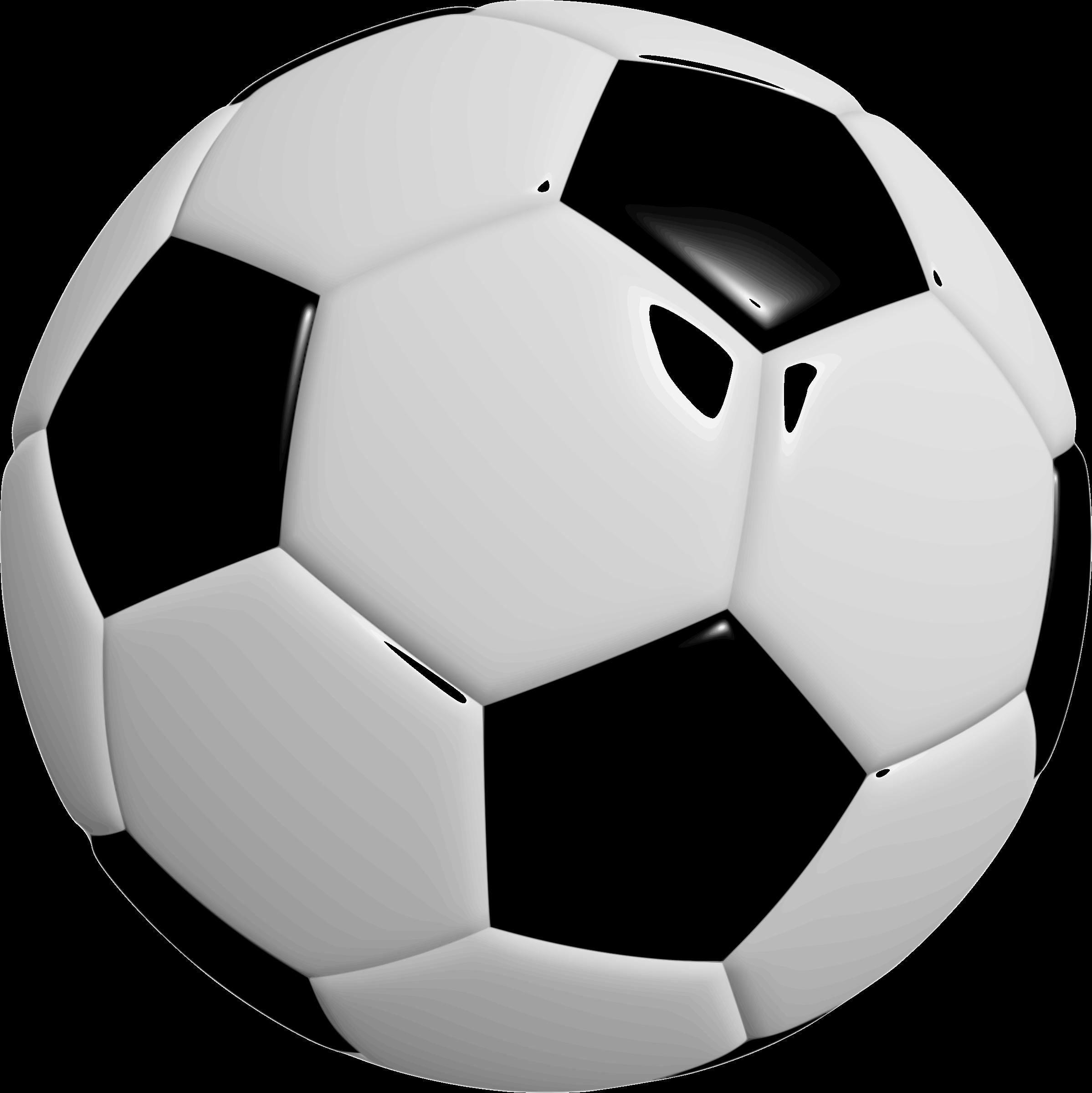Football ball big image. Foot clipart soccer