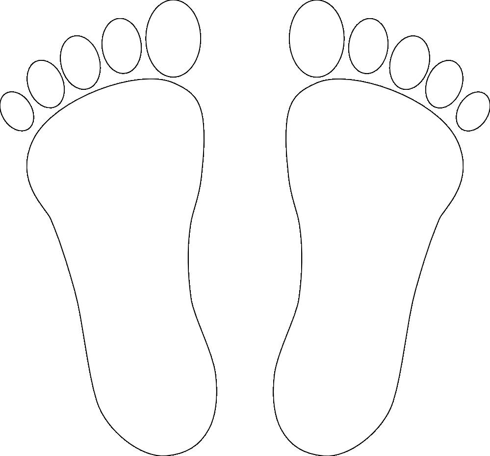 Clipartist net clip art. Feet clipart svg