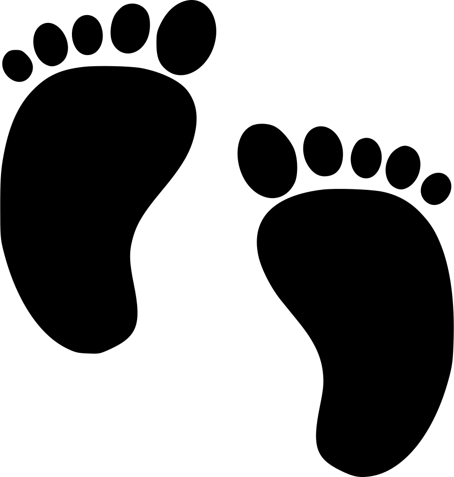 Baby feet svg png. Foot clipart small foot