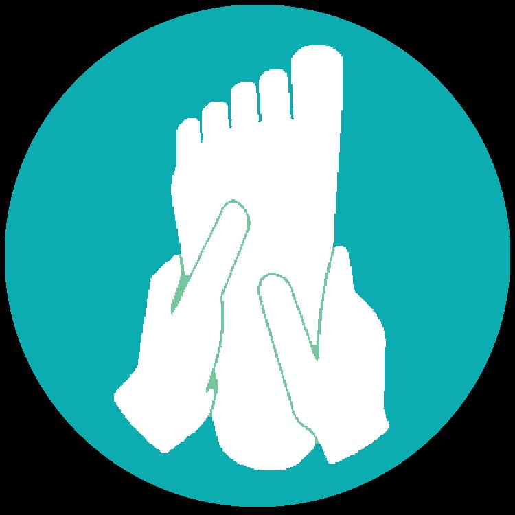 Feet clipart voet. Refuel sport and massage