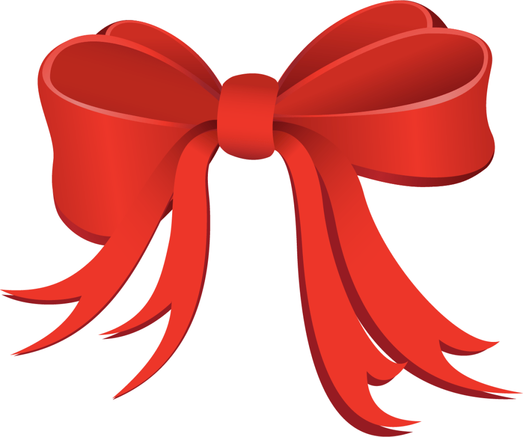 Red holiday bow gallery. Female clipart archery
