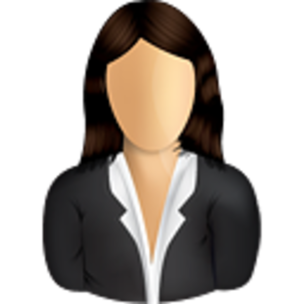 Female business user free. Lady clipart executive