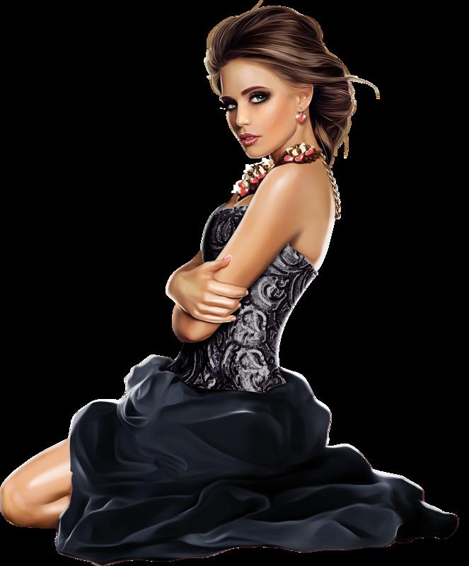 Female clipart fashion model. Tubes d artist vadis