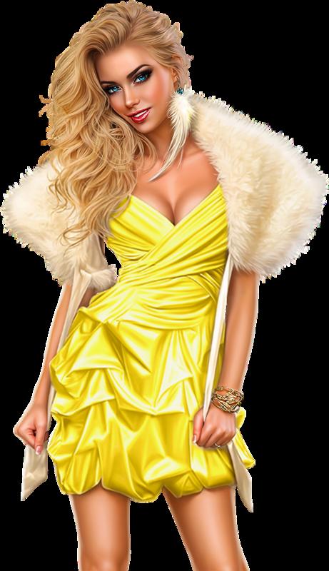Female clipart fashion model. Tubes d artist verymany