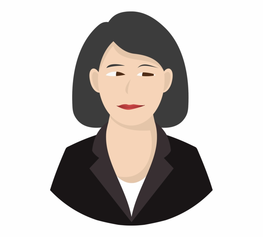 Woman computer icons avatar. Lady clipart person