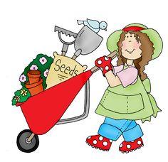 Gardener clipart lady gardener. Free download best