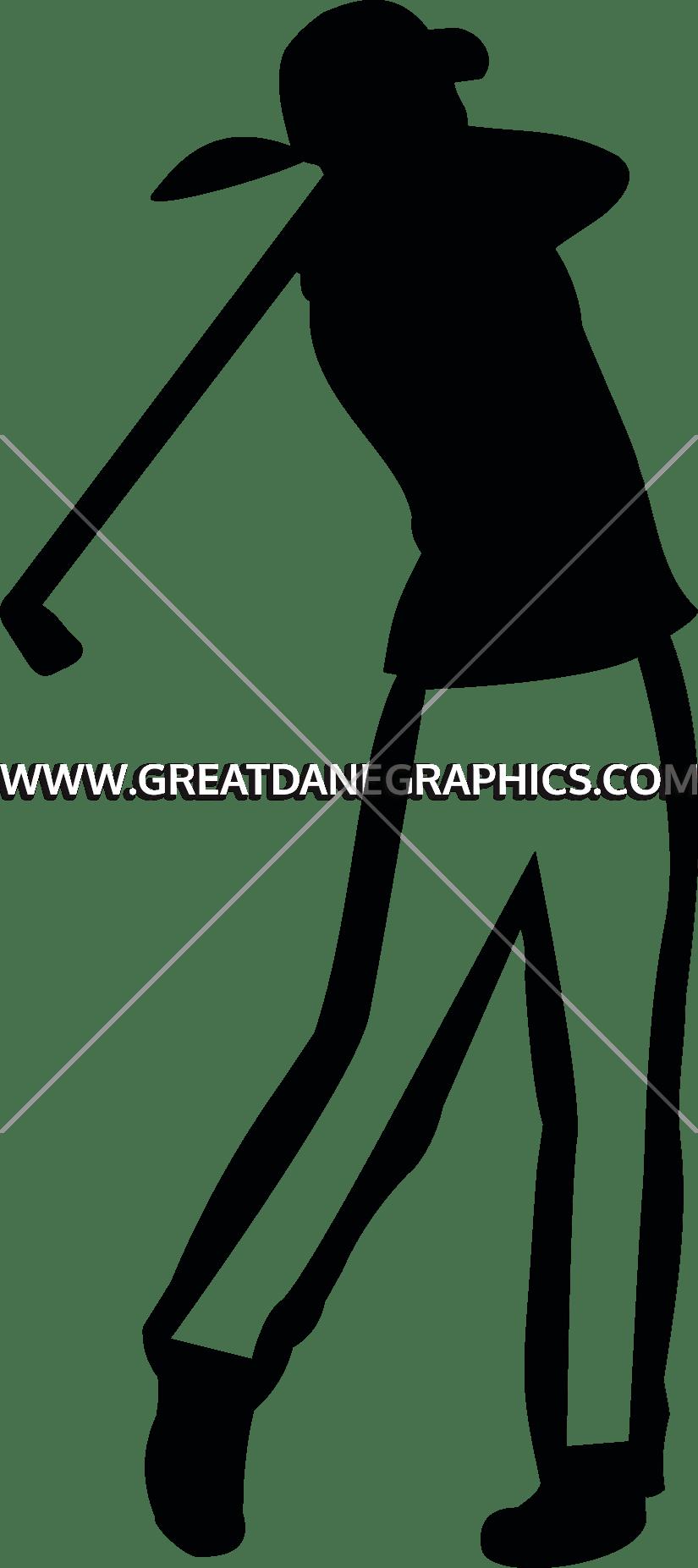 Golf clipart artwork. Female silhouette at getdrawings