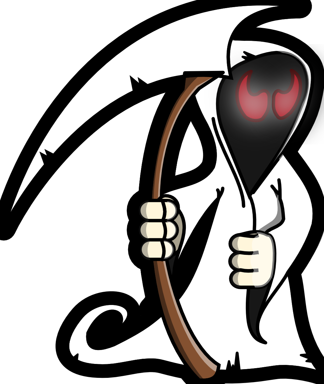 Website clipart commercialization. Grim reaper clip art