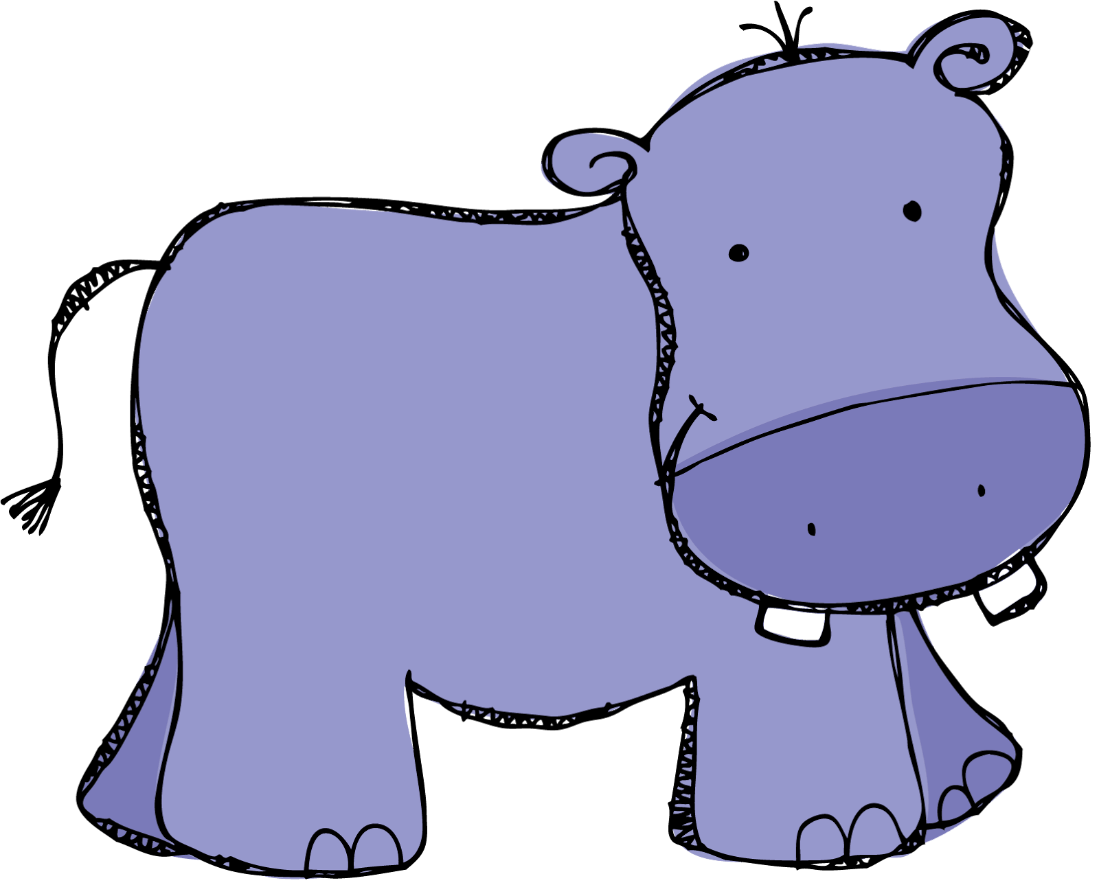 Pin by nadine on. Female clipart hippo