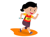 Race clipart first place. Sports free track and