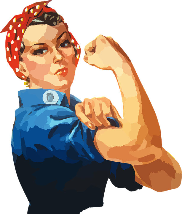collection of person. Female clipart independent woman