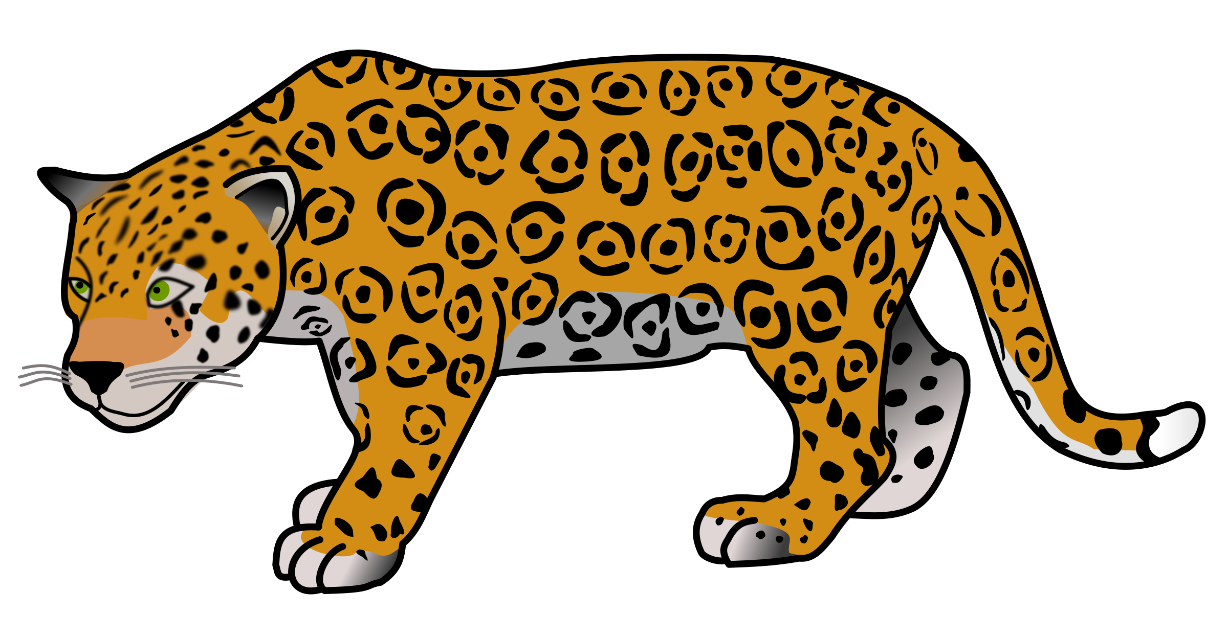 Female clipart jaguar.  collection of high