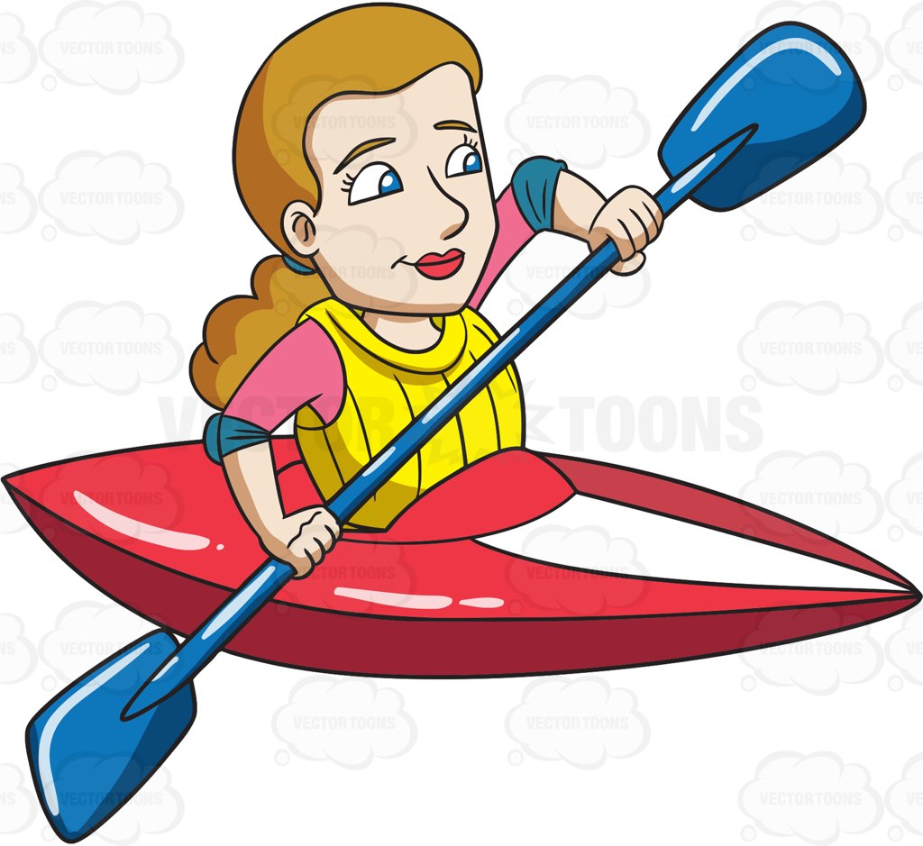 Kayak clipart red kayak. Free download best