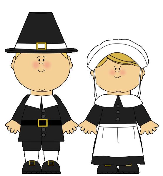 Pilgrims clipart scrapbook. Male pilgrim and female