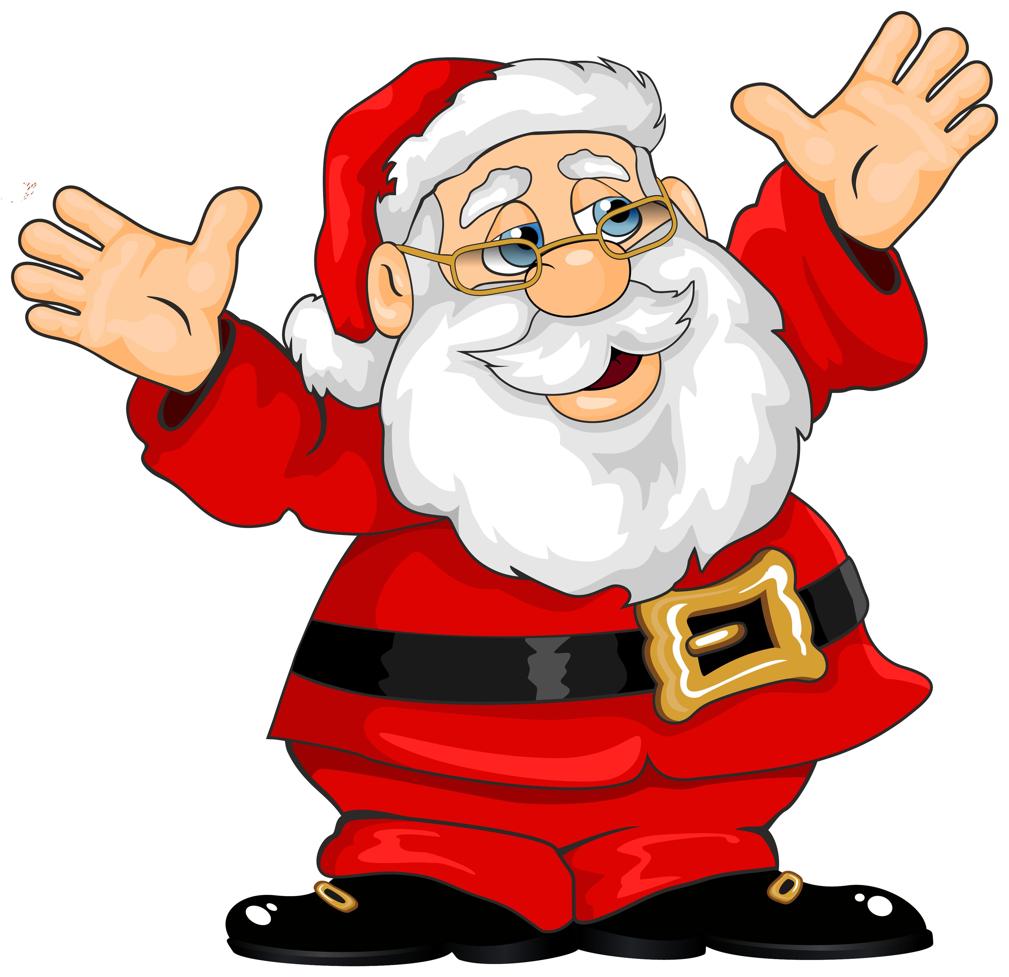 Santa claus png images. Thumb clipart cute