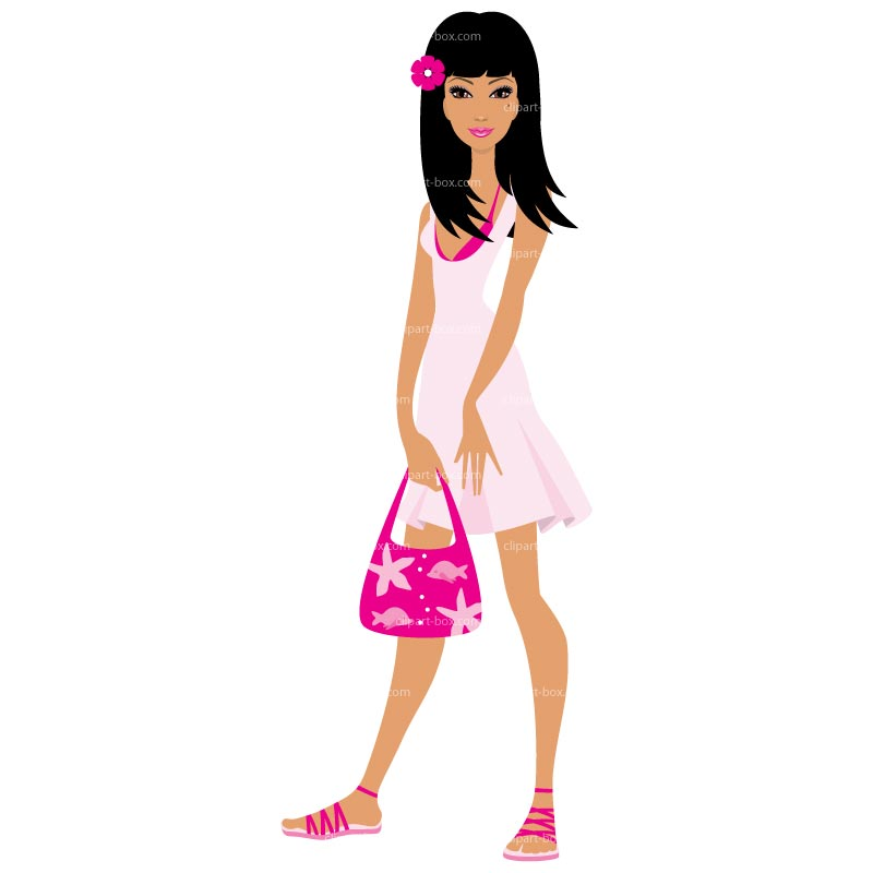 Free woman cliparts download. Lady clipart standing