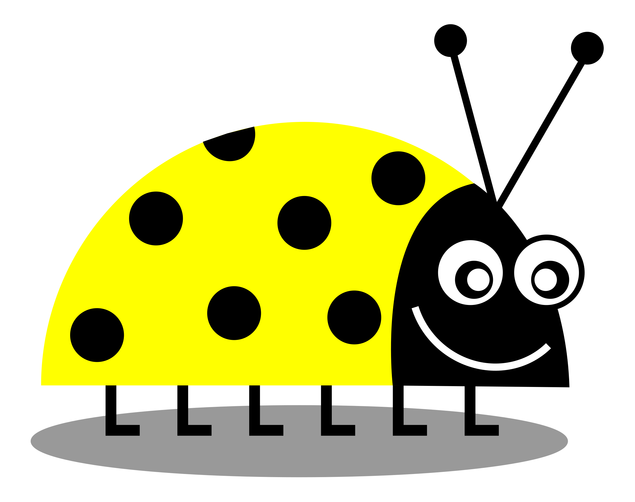 Wednesday clipart yellow. Teal ladybug free collection