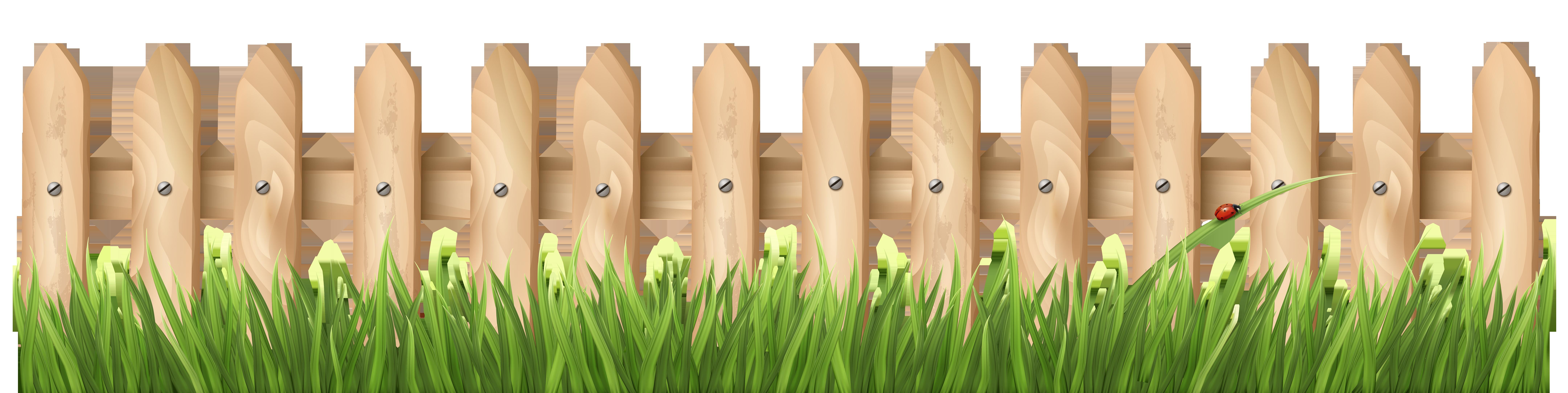 collection of fence. Garden clipart backyard