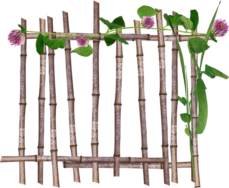 Fence clipart bamboo fence. Forgetmenot garden fences