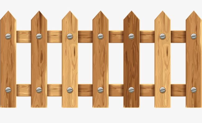Wood fences png barrier. Fencing clipart backyard fence