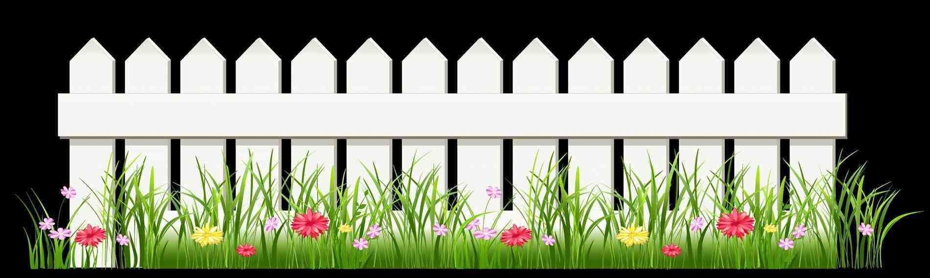 Fence clipart beautiful fence.  clipartlook