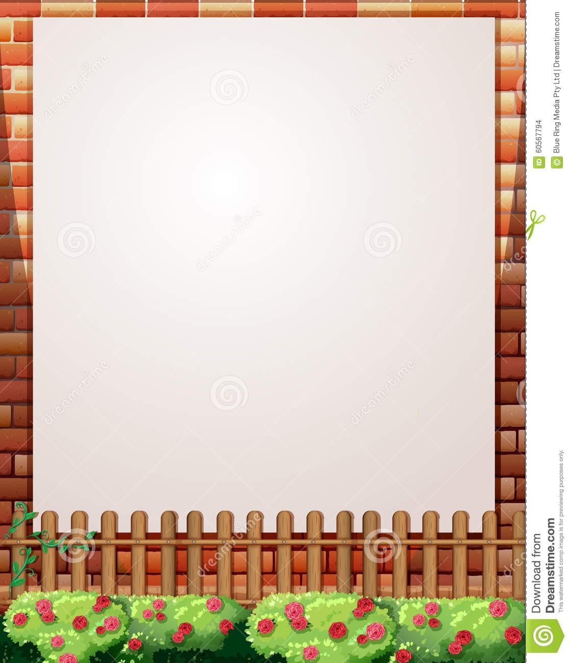 Design mincifine fr . Fence clipart border wall