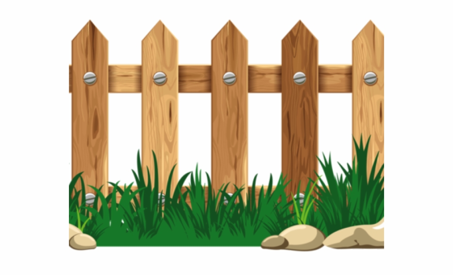 Wooden fence free png. Fencing clipart cartoon