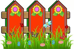 best fences collections. Fence clipart colorful