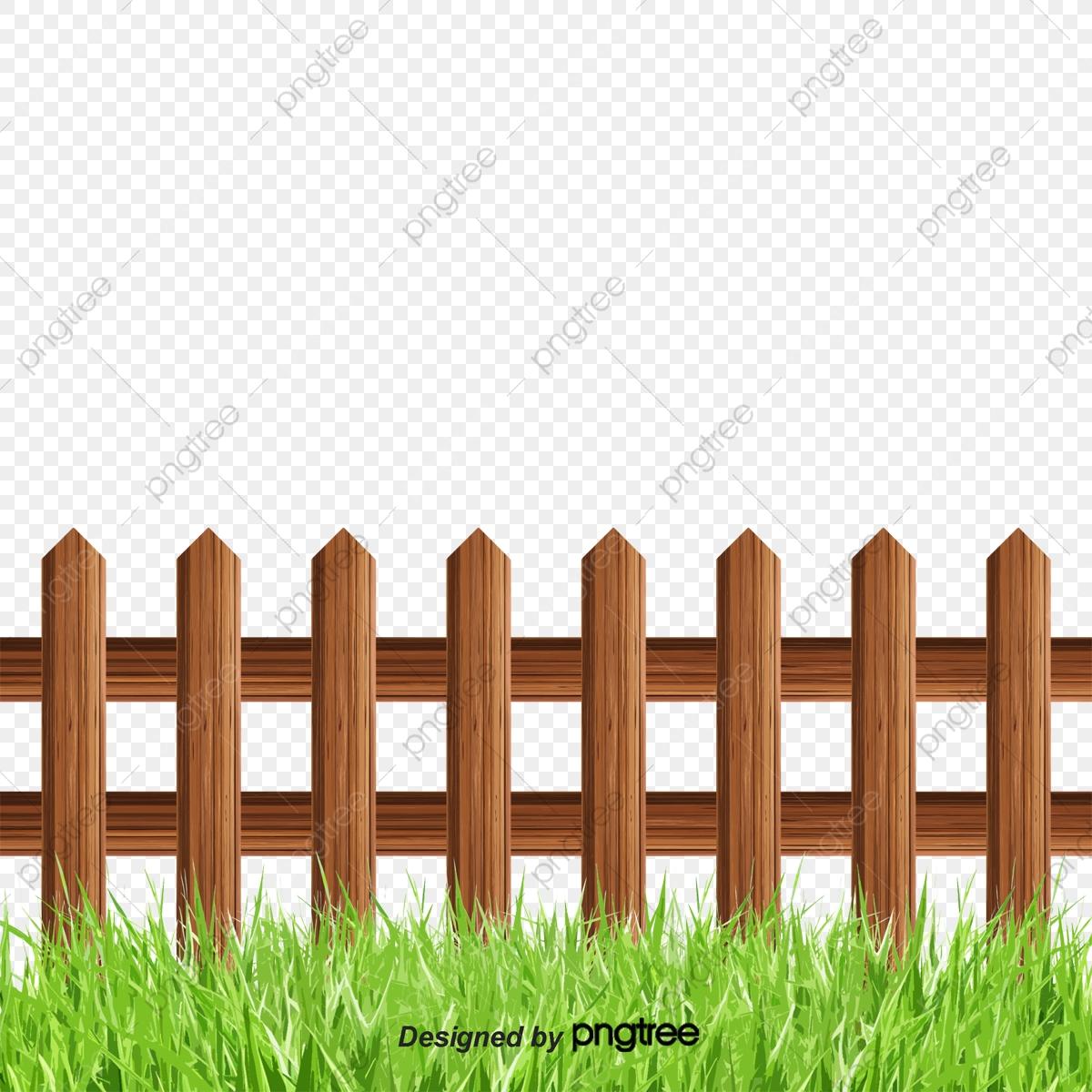 Fence clipart decorative fence. Wooden png transparent