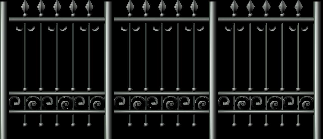 png clip art. Gate clipart matel
