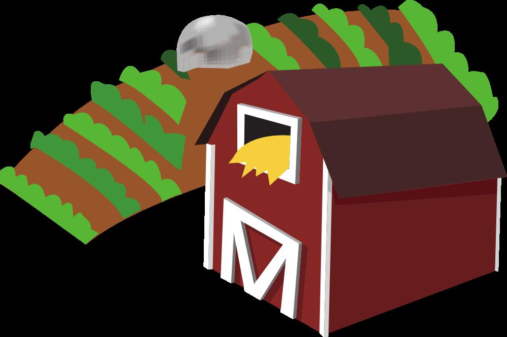 Farm clip art cliparts. Fence clipart farming