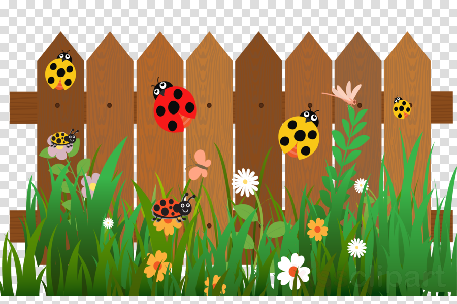 Family tree illustration cartoon. Fence clipart fence design