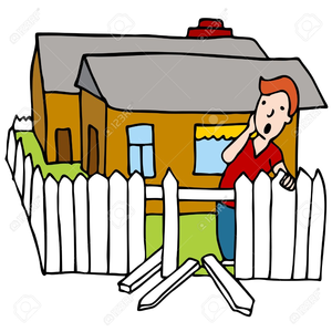 Fence clipart fence repair. Free images at clker