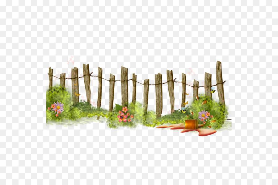 Architecture tree flower . Gardening clipart garden fence